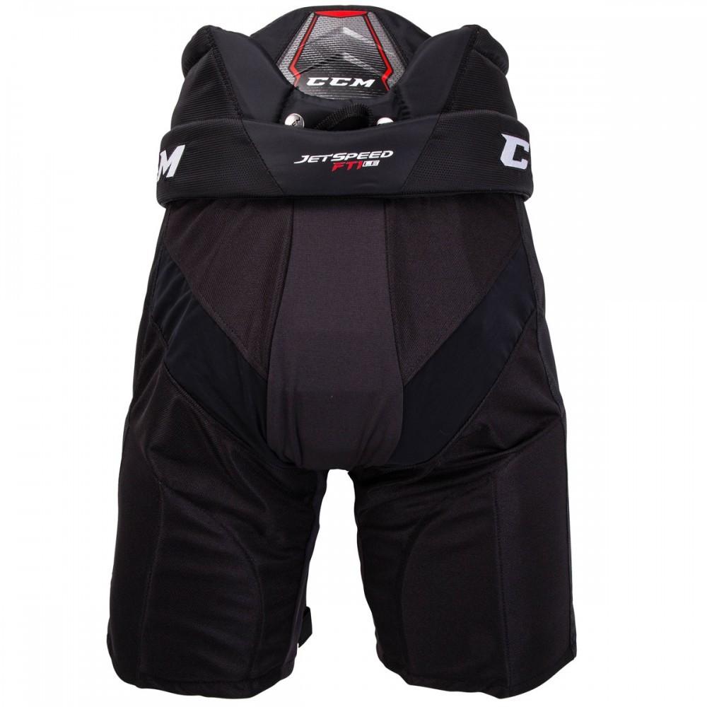 Kalhoty CCM Jetspeed FT1 JR, černá, Junior, XL